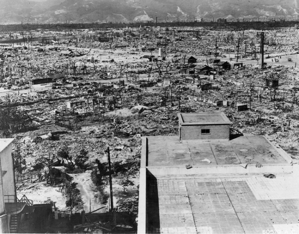 Atomic effects Hiroshima