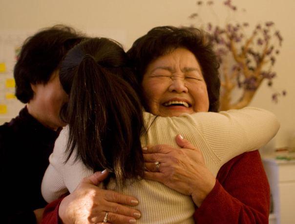 Setsuko hug