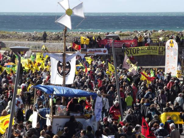 Flamanville anti nuke rally 2