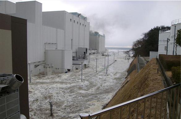 Fukushima inundation