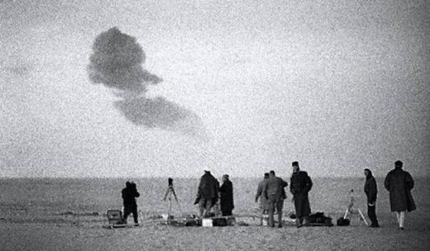 Gerboise bleue 13 Feb 1960 Sahara