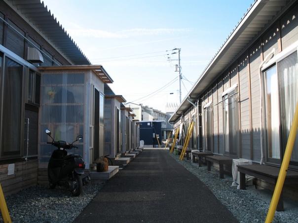 Oeko-Institute Fuku evacuees emergency accommodation