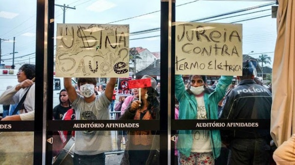 Usina protest