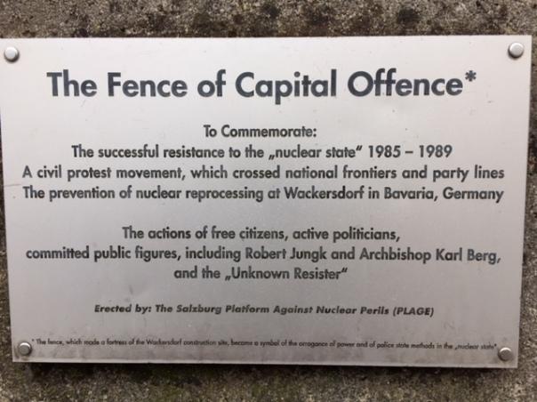 Salzburg plaque