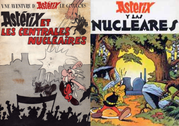Asterix French Spanish covers