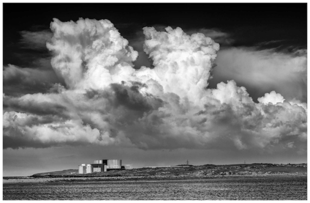 wylfa storm clouds