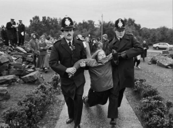 Rebecca arrested