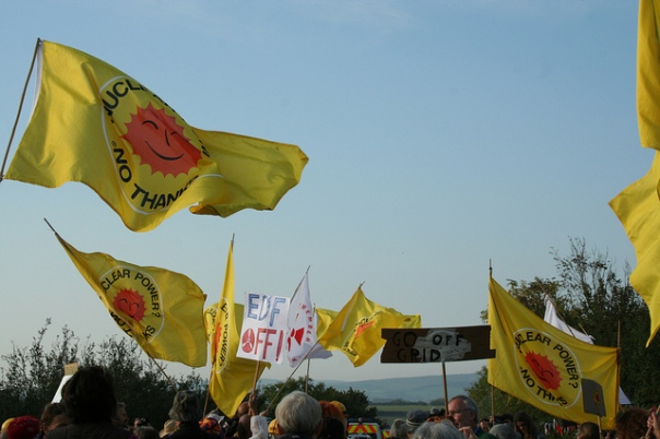 Stop Hinkley blocade by CND