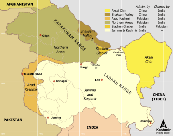 Kashmir disputed