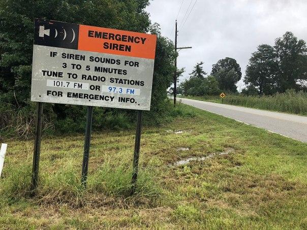 Salem alert sign