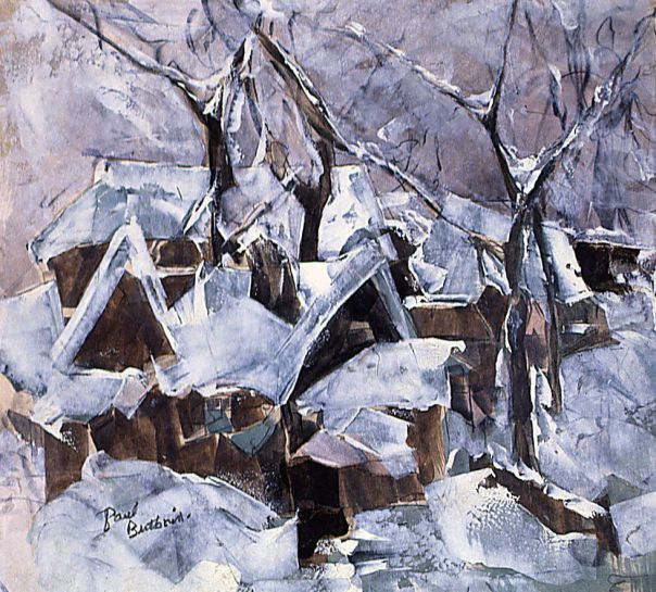 Winter landscape_Butkovich