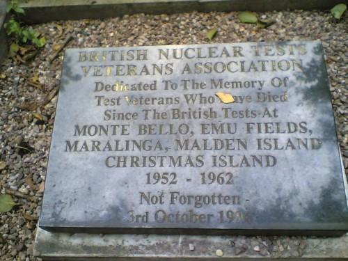 Maralinga memorial