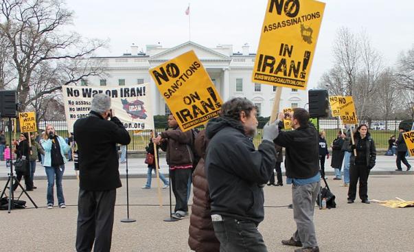 2012 no irn war demo