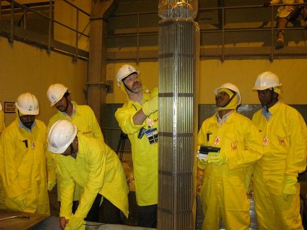 Workers at Kudankulam Photo Credit- Kirstie Hansen : IAEA