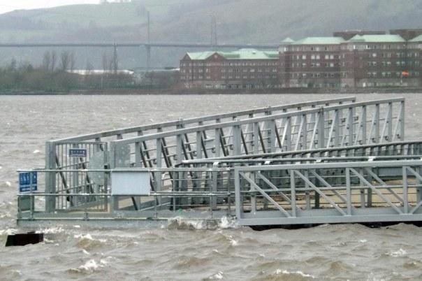 Storm Surge Clydebank 2014 Mark Harkin CC