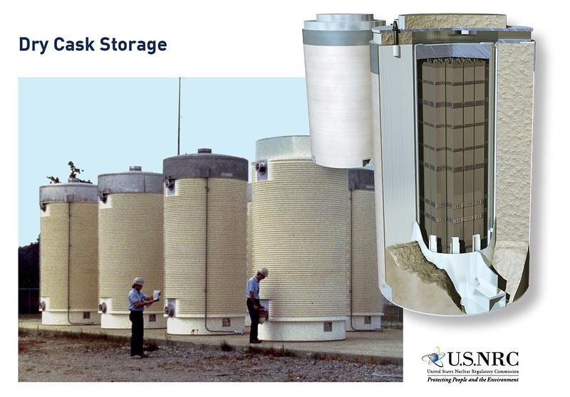 NRC dry cask storage